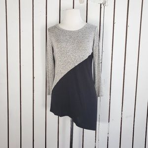 NWT Market & Spruce colorblock blouse size S